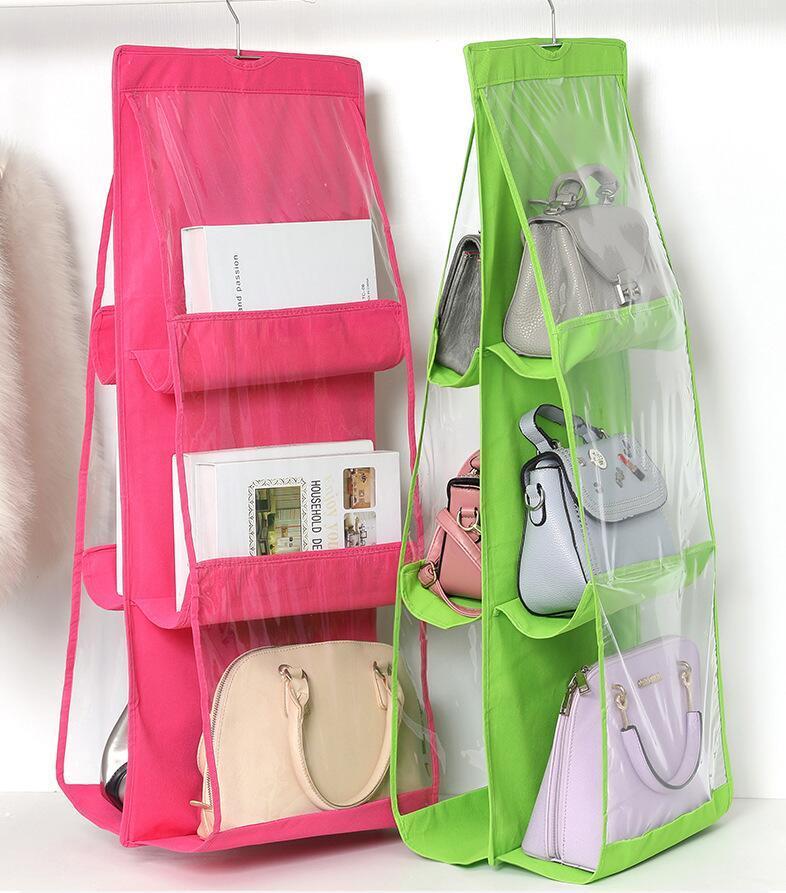 Storage Hanging Bags Waterproof Large Capacity Hook Travel Bag Double Sided Six Layer Hanging Bag Organizer Storage Foldable Bag ZYQ178