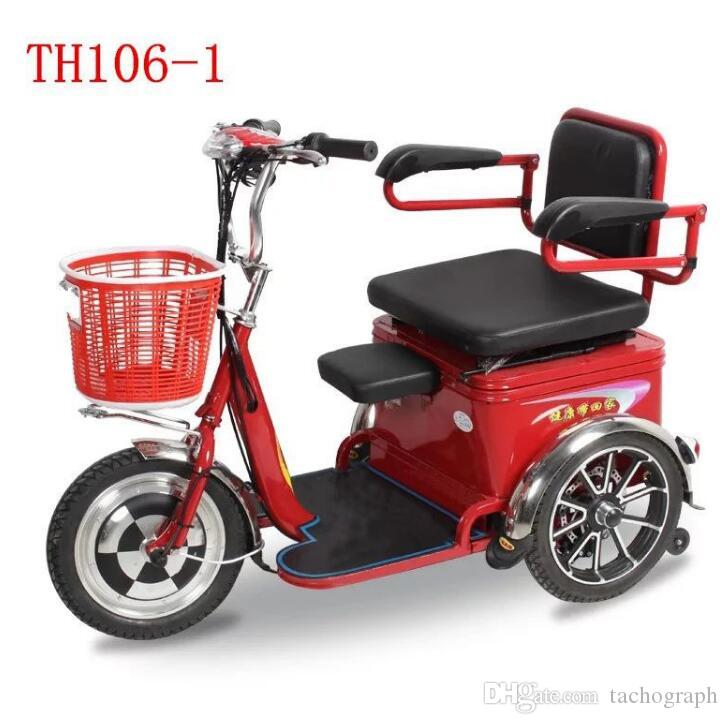 TH106-13C electric car manufacturers old scooter electric tricycle leisure car small mini step Battery capacity 48v20A