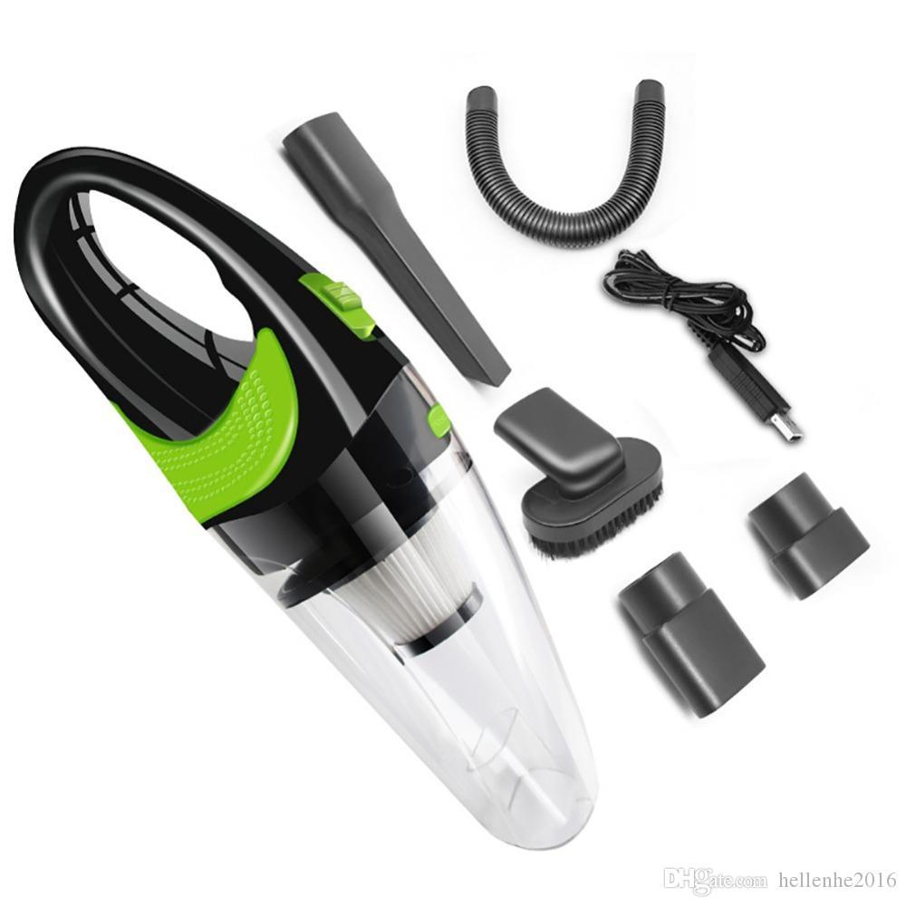 سيارة مكنسة كهربائية محمولة مكنسة كهربائية صغيرة سوبر شفط الرطب والجاف ذات الاستخدام المزدوج المحمولة مكنسة كهربائية
