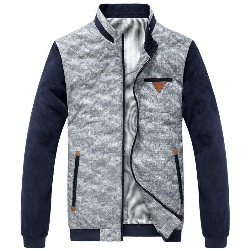 Ropa de abrigo de los chaquetas de los hombres, uniforme, abrigo informal, entrega de marcas de moda