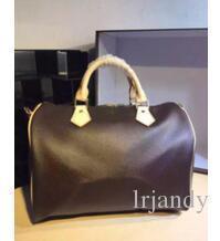 clássico Top qualidade senhora genuína oxidante rápida Couro 30 35 bolsa com as mulheres bloqueio bolsa sacola 41524