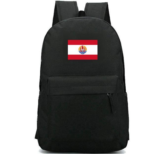 Полинезия рюкзак пр баннер дизайн мешок школы Франция флаг печать рюкзак путешествия рюкзак открытый рюкзак спортивный рюкзак