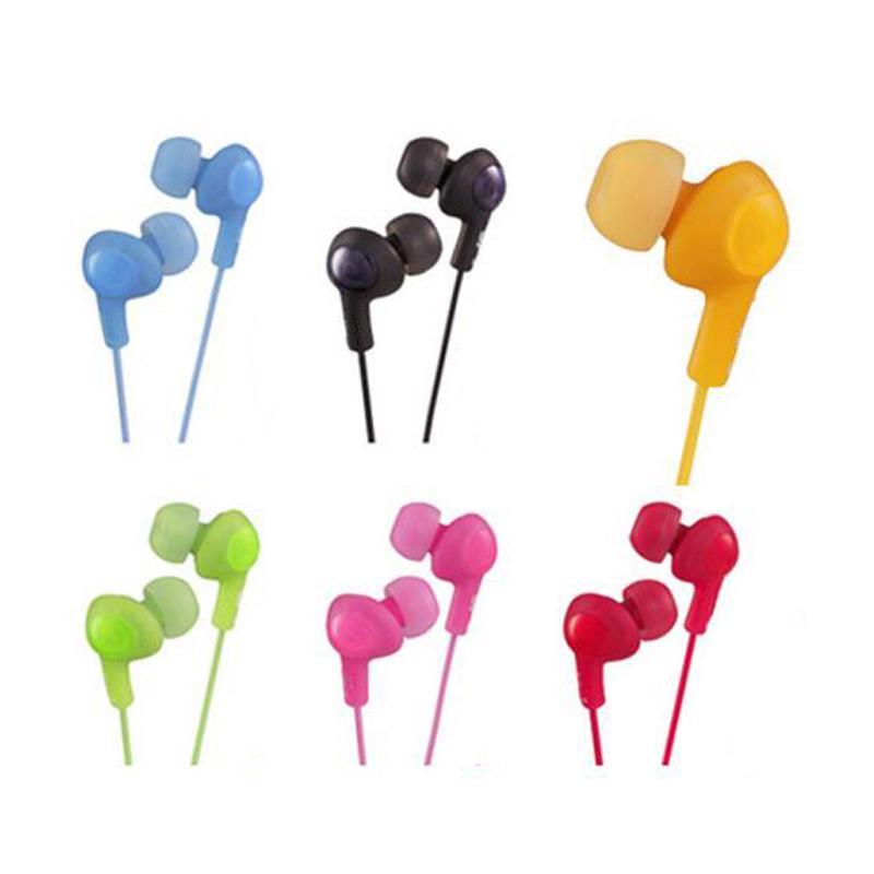 غومي HA F160 سماعة HA-F160 الهاتف الخليوي سماعة الأذن في الأذن سماعات ملونة بدون هيئة التصنيع العسكري الحرة
