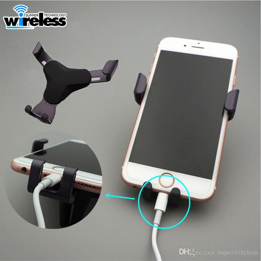 Universal Air Vent no carro móvel Suporte Phone Holder para o iPhone X Huawei acasalar 10 Lite Smartphone Não Suporte Auto Magnetic