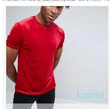 Estate Maschio motivo come High Street Stampa Lettera traspirante T delle parti superiori donne degli uomini di moda Streetwear maglietta
