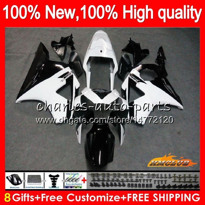 Bodywork For HONDA CBR954RR CBR900RR CBR900 CBR954 RR 02 2003 77HC.22 white black CBR 900CC 954 900 CC RR CBR 900RR 954RR 2002 03 Fairing