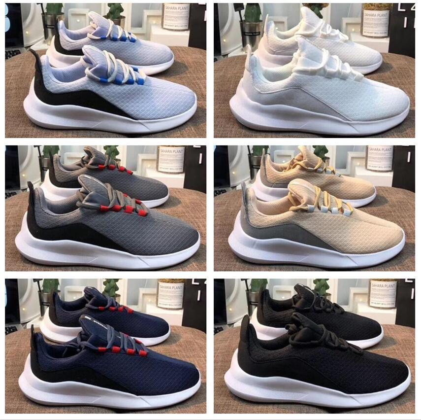 Viale nouvelles Jeux Olympiques de Londres 5.0 Chaussures de course pour hommes, femmes coupe-bas noir Chaussures de sport Casual Marque unisexe Zapatillas Sneakers