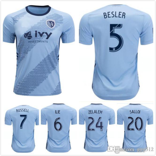Youth Sporting Kansas City adidas Light Blue Initial Info T Shirt