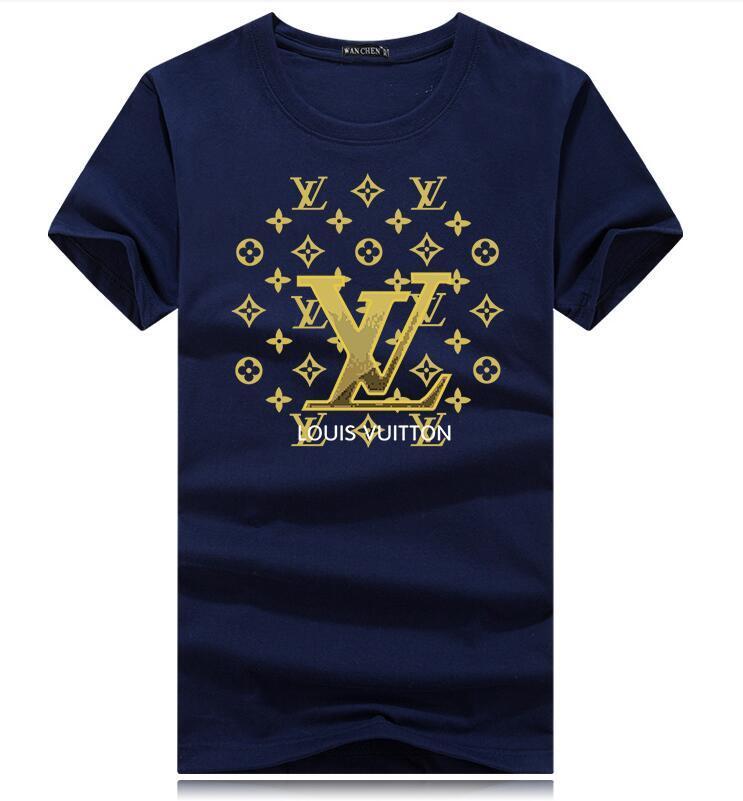 Großhandelsmann Marke T-Shirt Street kurzärmelige plus-size-T-Menswear-Designer Vintage Print Top-T-Shirt im Freien Street oben