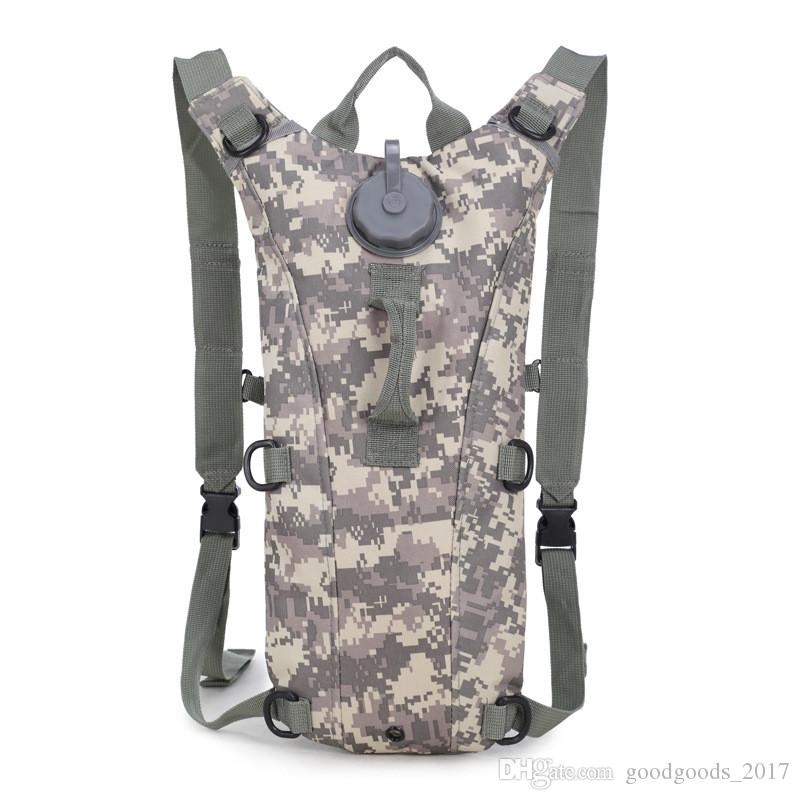 3L Water Bag Molle Tactical Hydration Backpack Outdoor Camping Camelback Nylon Camel Water Bladder Bag For Cycling K465