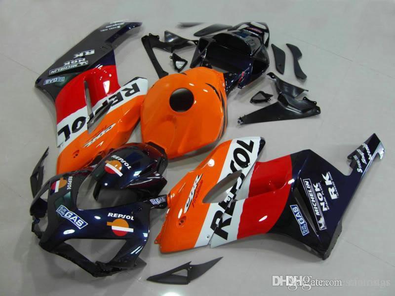 Ücretsiz kargo Honda CBR1000RR 2004 2005 turuncu turuncu