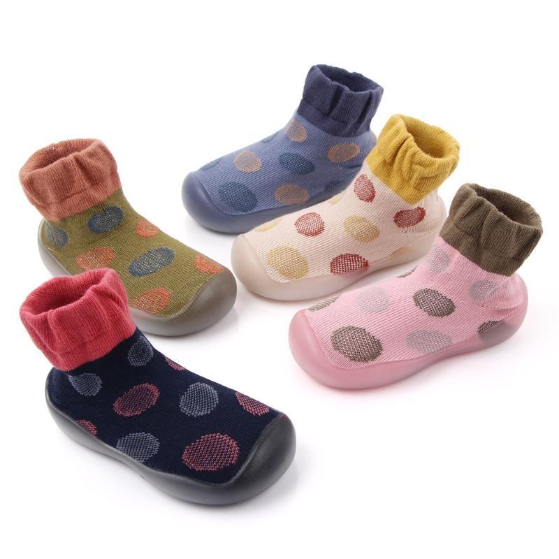 Criança infantil Calçados Meninas Boy Casual malha sapatos macios inferior Confortável antiderrapante