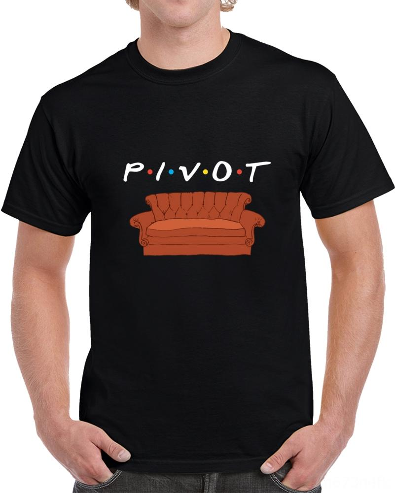 Männer T-Shirt Freunde Ross Pivot-T-Shirt T-Shirts Polos Herren Bekleidung T-Shirt Frauen-T-Shirt