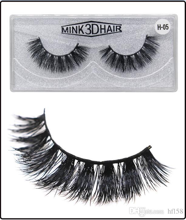Factory Direct DHL New Makeup 3d Mink Eyelashes Three Dimensional Multi  Layer Thick Cross Eyelashes Mink Lashes Eyelash Extensions Reviews How To