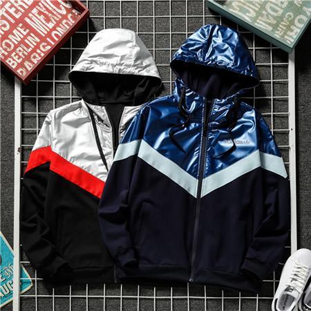 2020 Новая весна осень Mens женщин Designerjackets Ветровка Zipper пальто вскользь Brandjackets Верхняя одежда Активный Running Jacket 20030405D