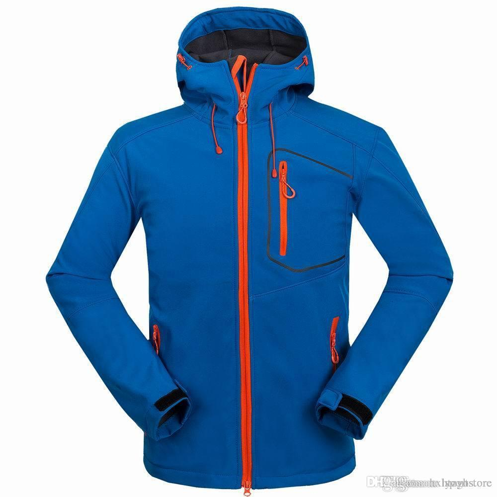 Free shipping hot light version men's outdoor camping hiking sports jacket windbreaker soft shell jacket outdoor tops