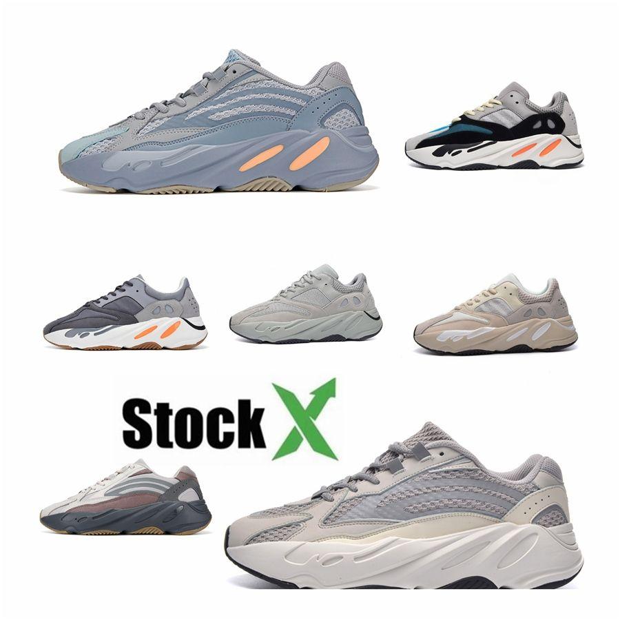 2020 Новый 700 V3 Azael Alvah Kanye West обувь Мужские кроссовки для мужчин 700S Спорт Tripler Мода Кроссовки Кроссовки Обувь с коробкой 2 # DSK944