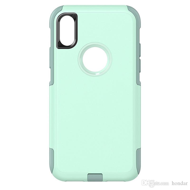 Golpes globales para Iphone xr funda de viaje con paquete minorista 2en1 shockproff designer phone case pc + tpu para Iphone xs max case