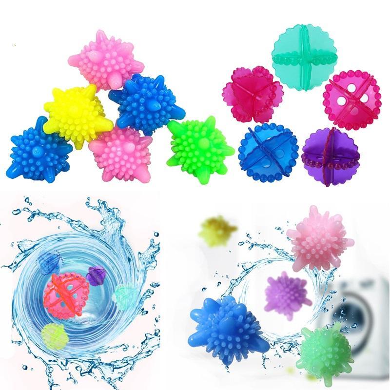 Ev Çamaşır Topu Bezi Bakım Temizlik Topu Yumuşak Plastik Ev Çamaşır Makinesi Topu Kuru Çamaşır Ürün Karşıtı sarma