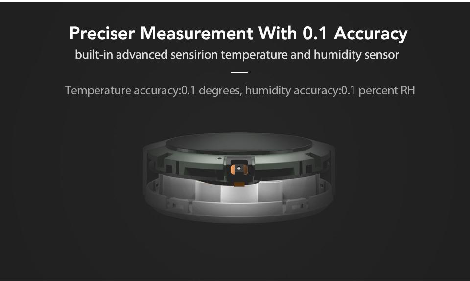 Xiaomi Mijia Bluetooth Temperature Humidity Monitor Sensor APP Control Built-in Sensor LCD Display Magnetic Stick Ultra-LowPower (3)