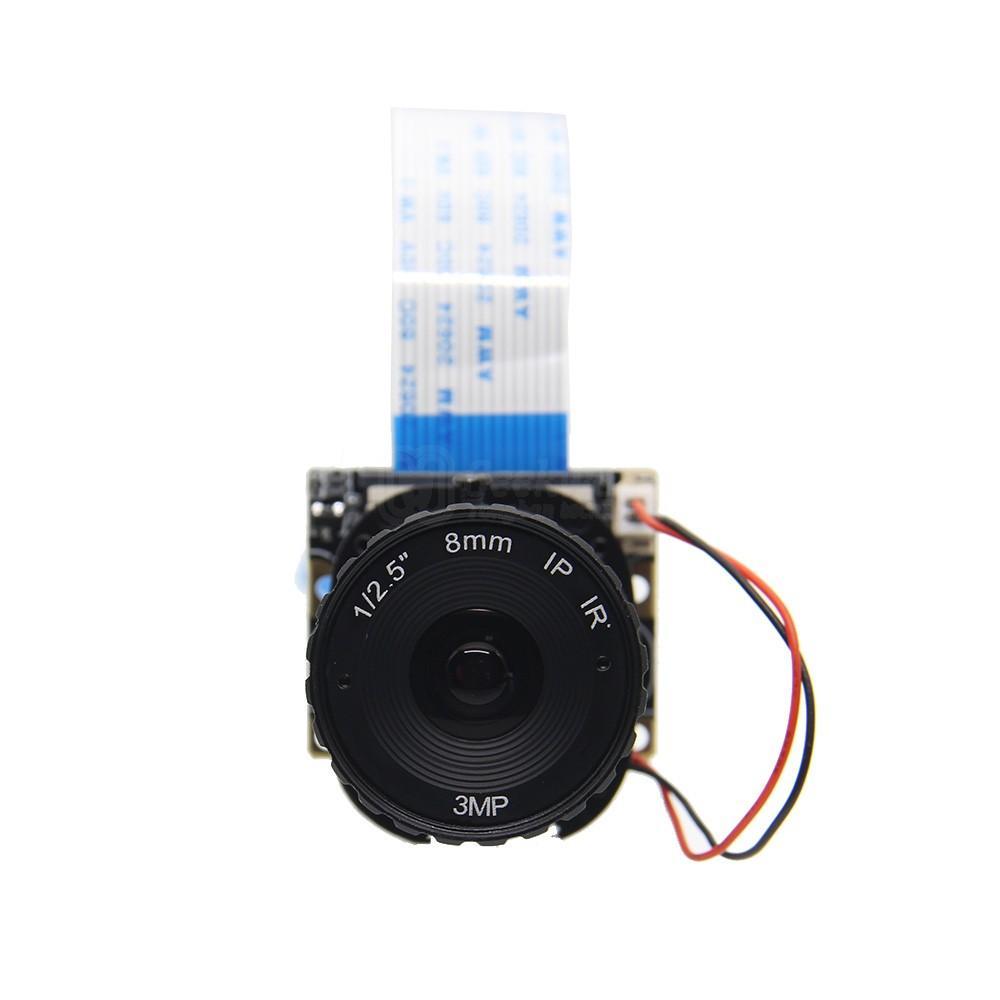 Freeshipping Raspberry Pi Camera / 5MP 8mm Focal Length Night Vision NoIR Camera Board with IR-CUT for Raspberry Pi 3 Model B/2B/B+/Zero (w)