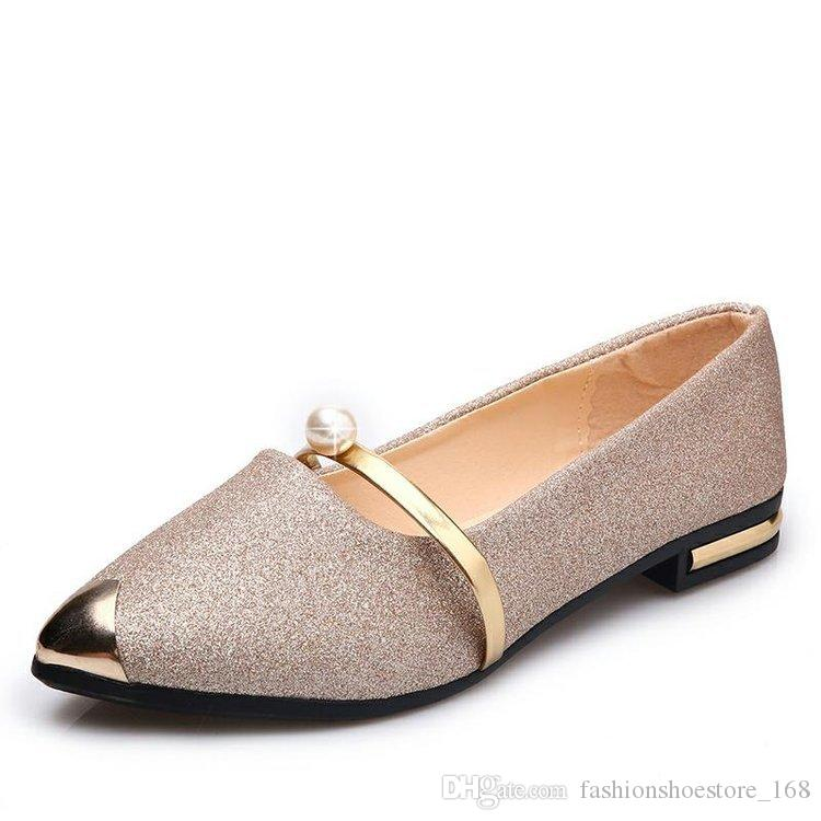 Summer Pointed Toe Casual Flat Shoes