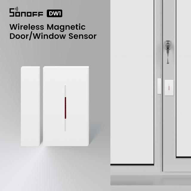 Consumer Electronics Sonoff RF Bridge 433MHZ Wifi Wireless Signal Converter PIR 2 Sensor/ DW1 Door & Window Alarm Sensor for Smart Home