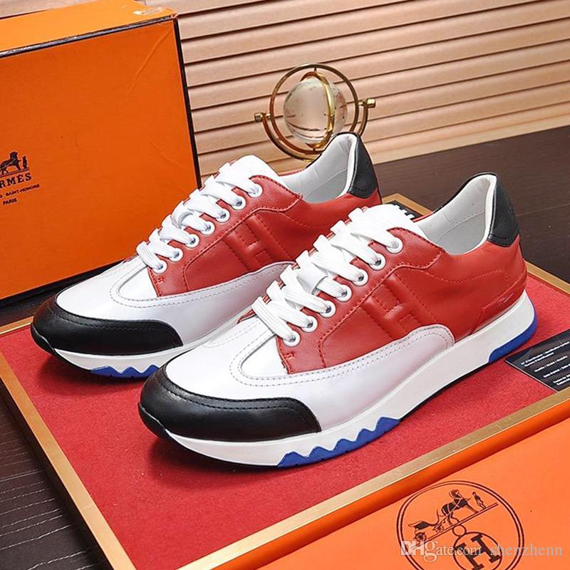 Herrenschuhe Mode Schuhe im Freien Sportlich Chaussures pour hommes Herrenschuhe Casual Luxury Trail Sneaker Heißer Sportschuh