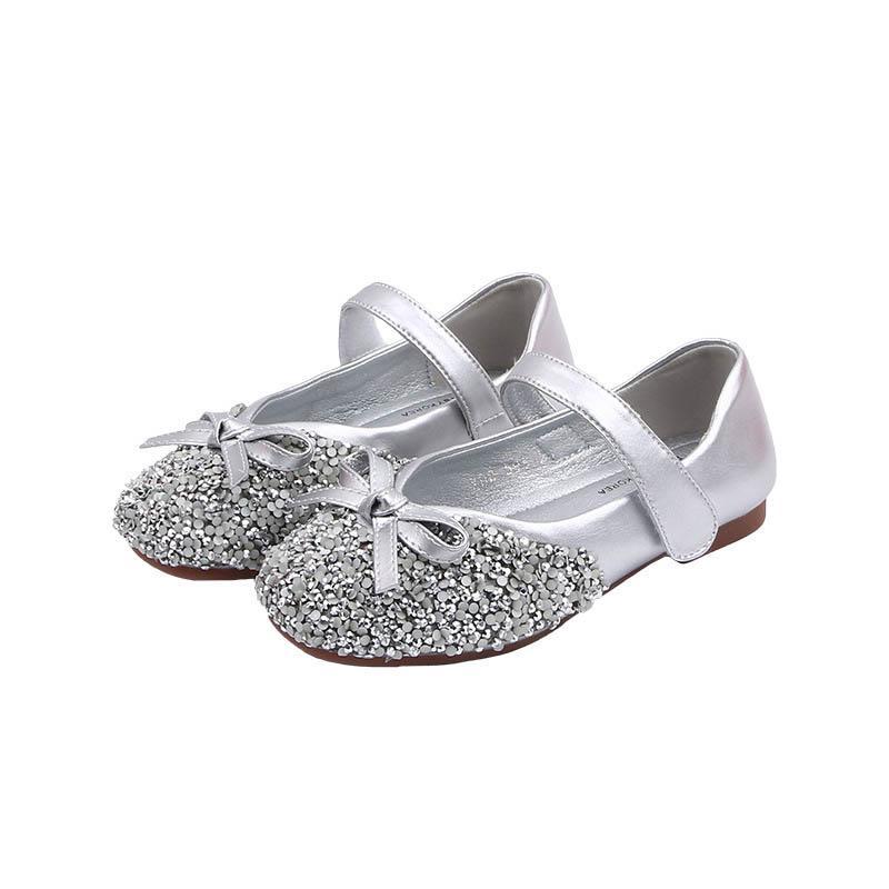 Le nuove ragazze 2020 ragazze belle scarpe di cristallo moda scarpe per bambini boutique di scarpe bambino partito scarpa principessa stilista B88 scarpa