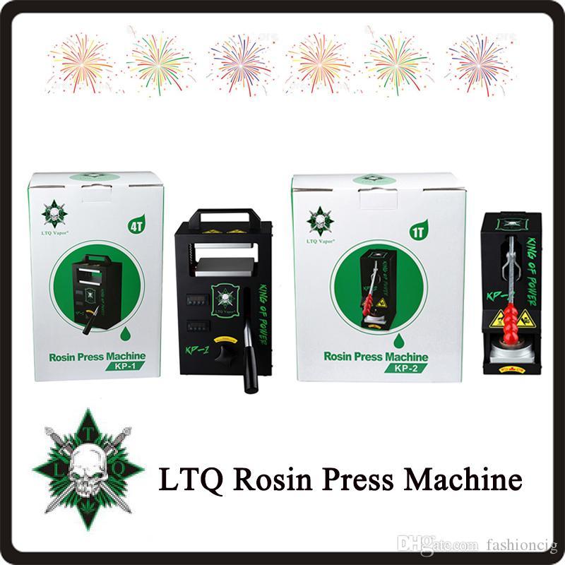100% auténtico KP1 PK-2 colofonia máquina de la prensa Por LTQ vapor KP1 Cera DAB Exprimidor temperatura de la herramienta que extrae ajustable Kit Presser DHL