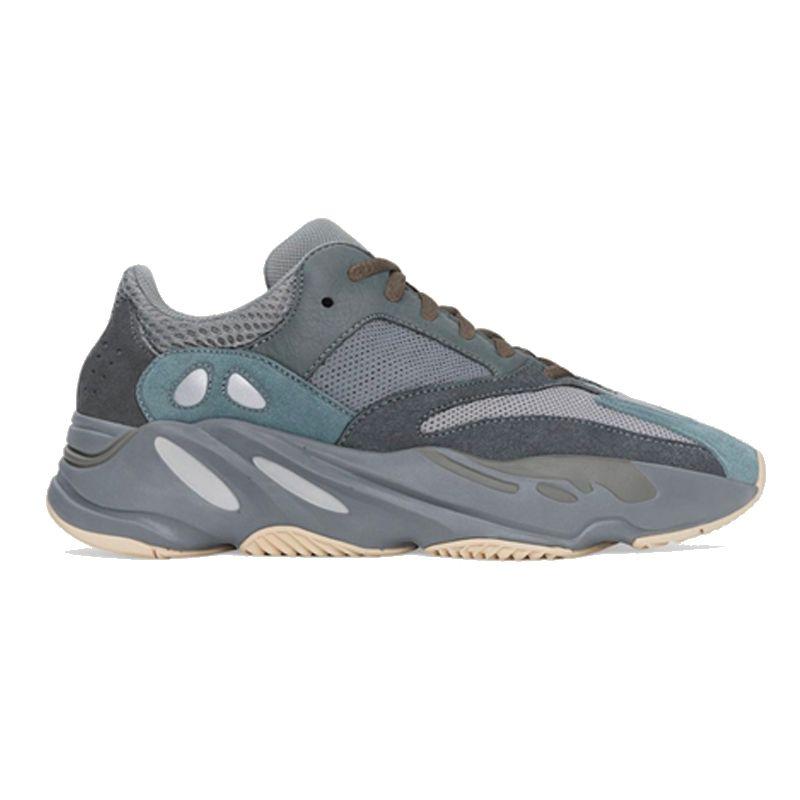 Top ouest de kanye de qualité des chaussures de course 700 Wave Runner Inertie réfléchissant Tephra solide Gris Noir Utilitaire Vanta Hommes Femmes Sport Chaussures