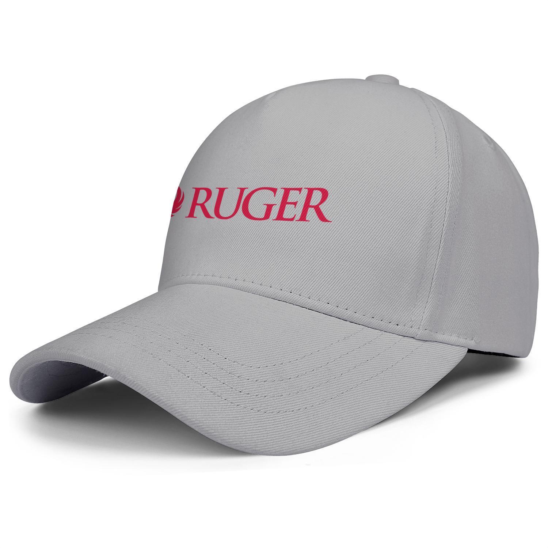 Модный пистолет Ruger STURM Unisex Baseball Cap состоит из классических Trucke Hats Company FireaRms Старинные старые белые мраморные лица для флага