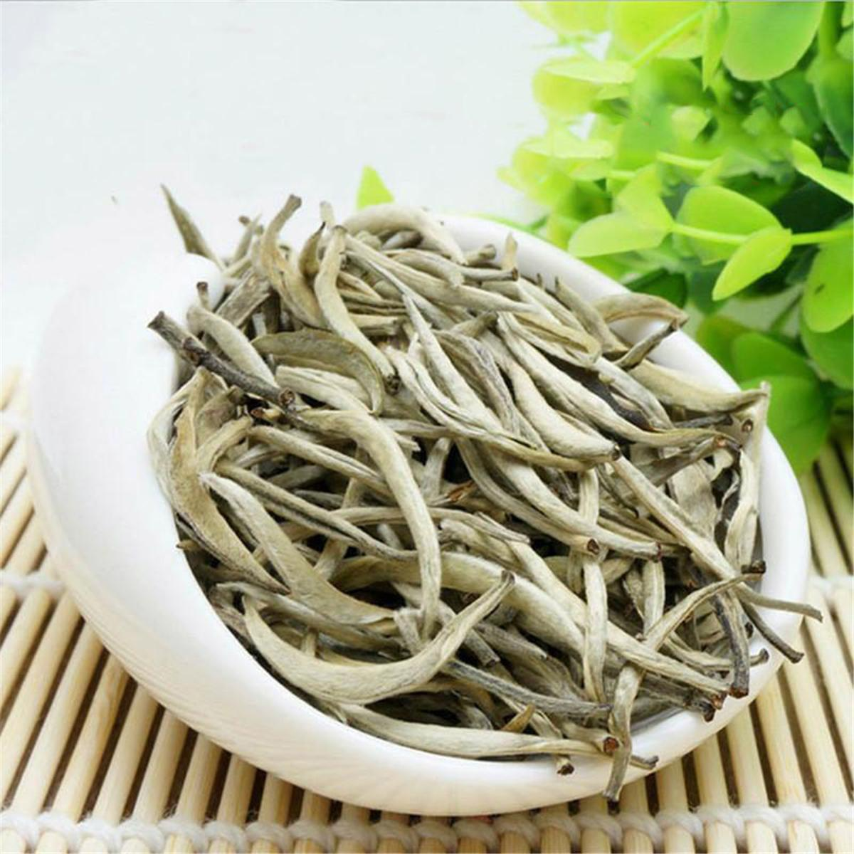 100g Raw Puer Tea Yunnan Silver Needle Loose White Puer Tea Organic Pu'er Old Tree Green Puer Natural Puerh Tea Factory Direct Sales