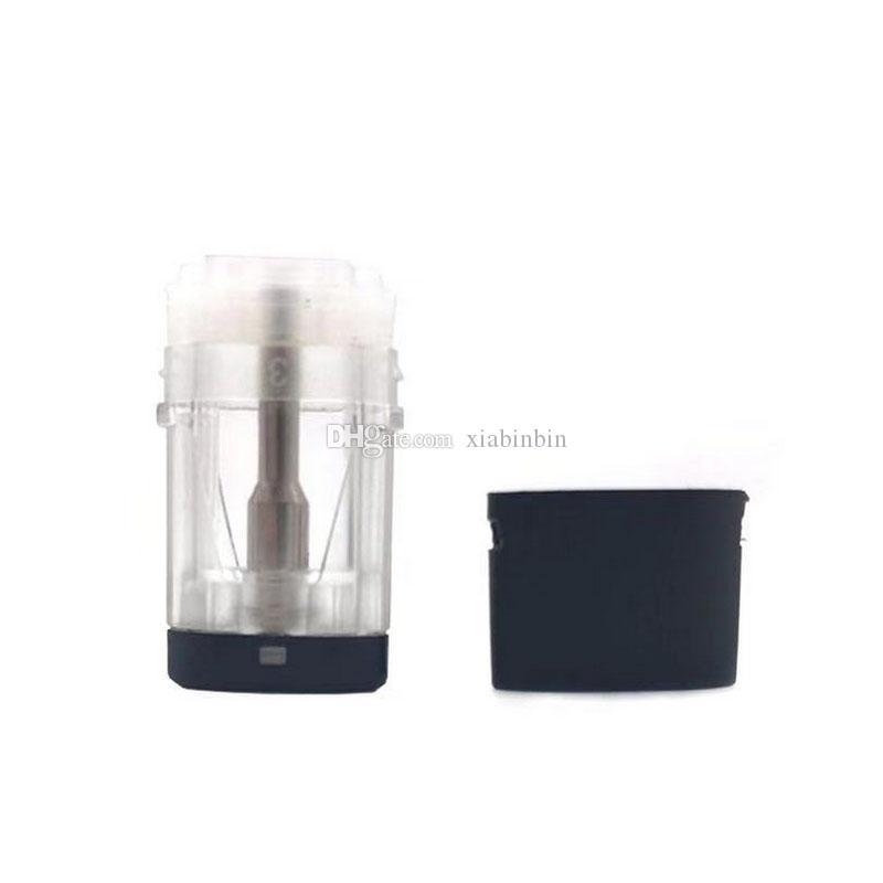 Vape Pods Atomizer Ecig Cerâmica Bobina 1ml para Opção Vazio Pyrex Vidro Tanque 510 Linha Grossa Óleo Vape Cartuchos UPS Grátis