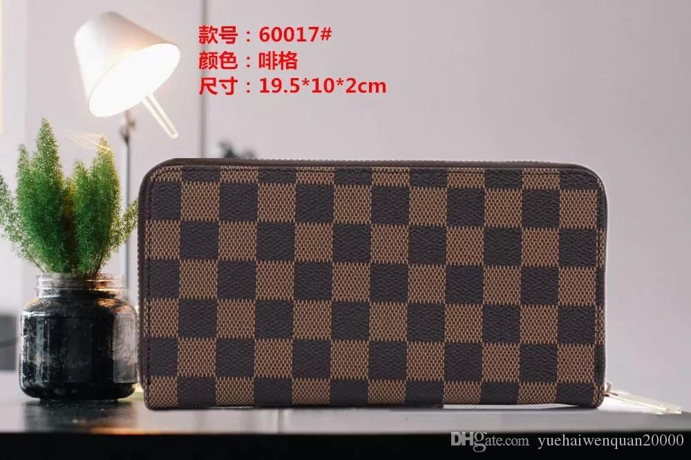 2019 new women's wallet trend personality female long zipper wallet Korean version of the large-capacity leather clutch bag