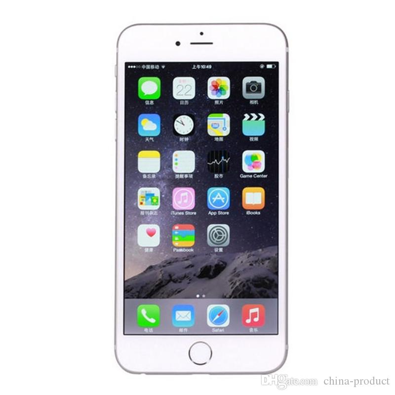 Top quality Refurbished Original Apple iPhone 6 Support fingerprint Cell Phone 4.7 inch ROM 16GB 4G FDD-LTE Unlocked mobile phone