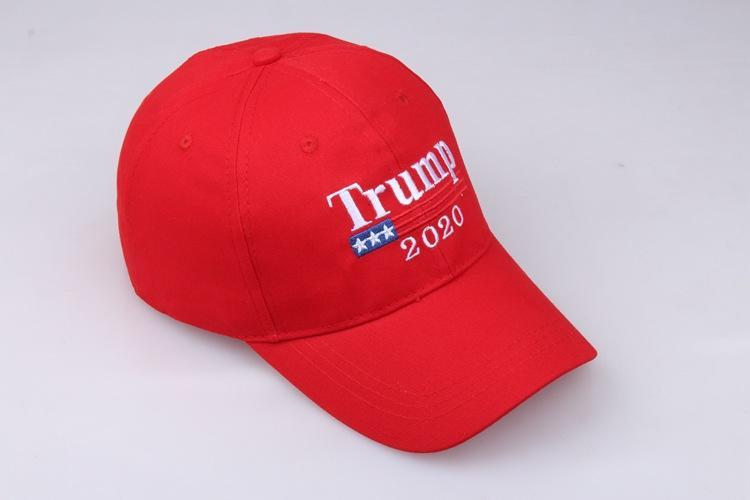 100% L(58-60CM) Embroidery Trump 2020 Make America Great Again Donald Trump Baseball Caps Hats Baseball Caps Adults Sports Hat 3 Color