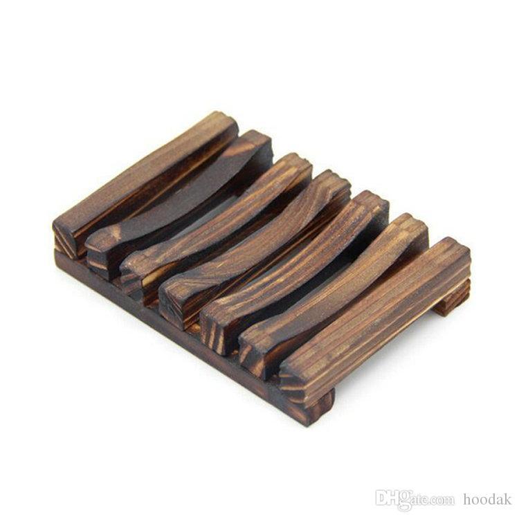 Portasapone in legno d'epoca Piatti portasapone in legno Portasapone Portasapone portasapone Contenitore per vasca da bagno Piatto doccia