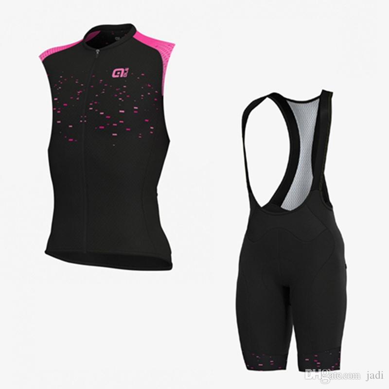 Men Cycling Jersey Bib Shorts Set 2019 pro team Bike Clothing New sports uniform