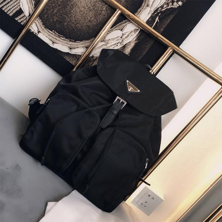 progettista zaino in nylon zaino impermeabile di viaggio portatile borse borse scuola di grande formato capienza 30 * 35cm trasporto libero
