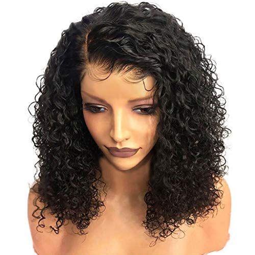 360 de encaje frontal de la peluca 150density brasileña del pelo pelucas de pelo rizado encaje frontal profunda humano Pre desplumados con el bebé Remy blanqueado nudo completa