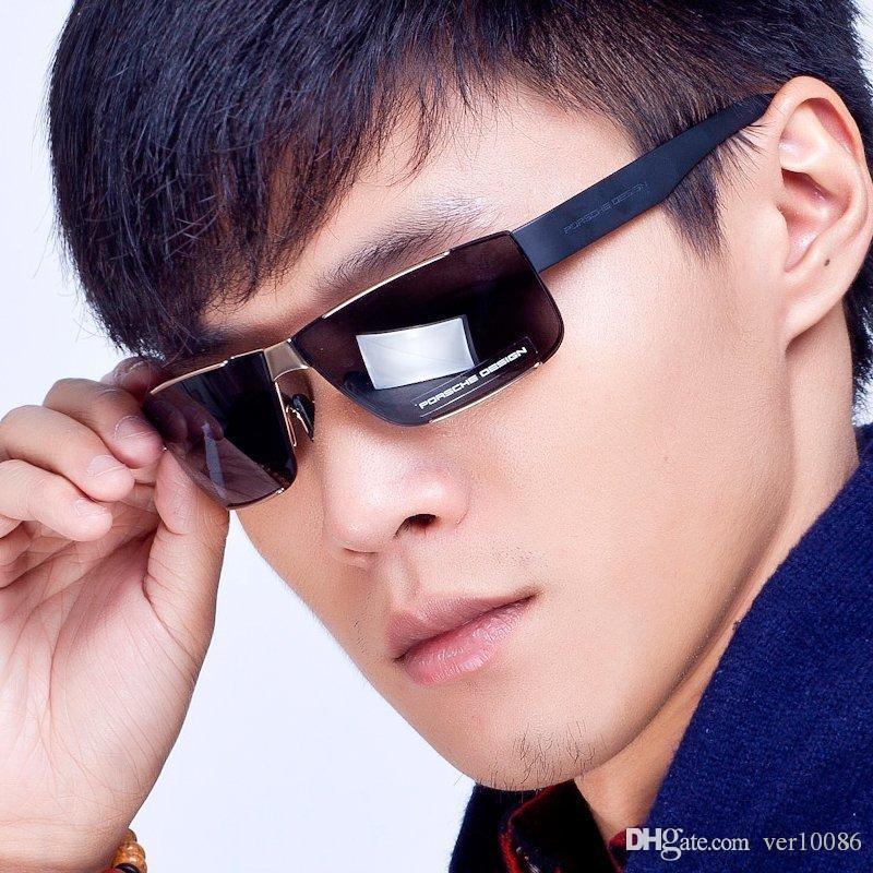 Excellente qualité Marque Hommes et femmes lunettes de soleil avec boîte origianal lunettes jim lunettes classiques de conduite Big Goggle