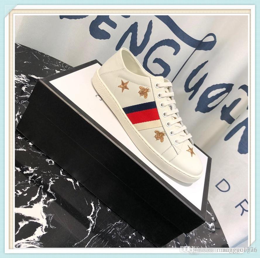 Sneaker Luxo Homens Mulher sapatos de amarrar Top Fashion Shoes Passeio ao ar livre por Homem Esporte sapatos confortáveis