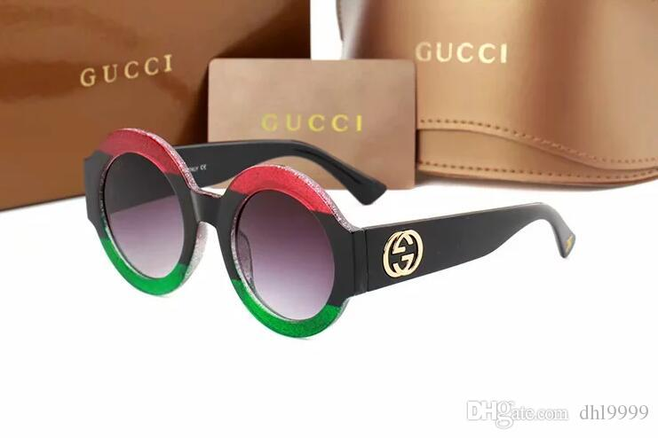 2019 occhiali da sole donna UV400 occhiali da sole moda uomo occhiali da sole Occhiali guida occhiali da sole freddi occhiali da sole trasporto libero 0084
