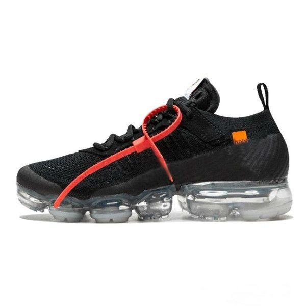 Nike Air VaporMax FK 2020 Venda vapores Fly 2.0 II Knit FK 2.0 Homens sapatos Oeste VPM Lazer sapatos Black White Casual respirável Sneakers 5,5-12 PP03