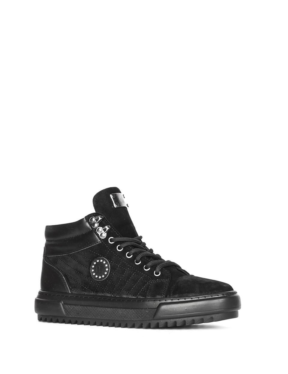 2020 Ripon Men's Boot Black Suede casual shoes