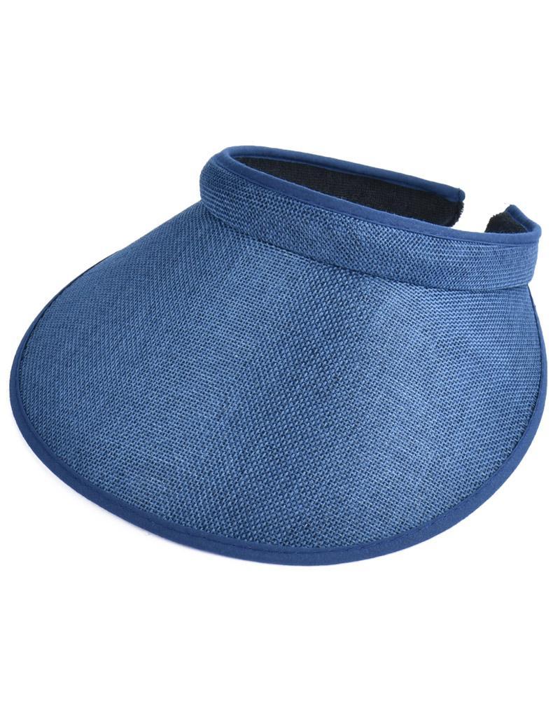 7 color unisex hombres de las mujeres de Sun del verano viseras Cap amplio de ala ancha con las tetas al Tenis Golf venda del sombrero Headwear