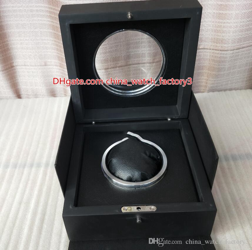 Venda quente de alta qualidade HUB relógio original caixa de cartões Papers Transparente Vidro Madeira Caixas de presente Bolsa Para King Power HUB4100 2892 Relógios