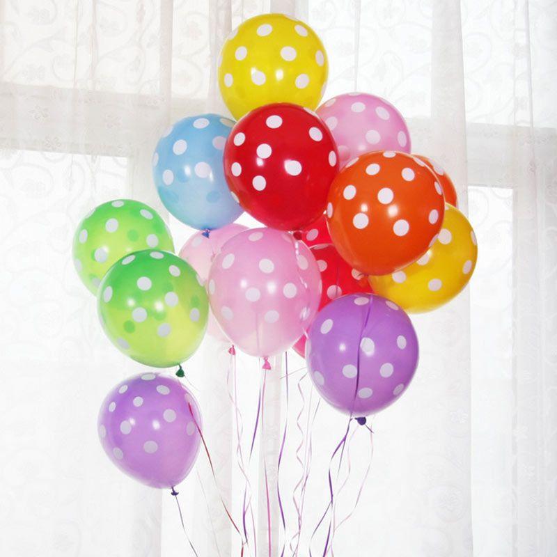 """12/"""" Pulgadas Globos de Látex al por mayor de Helio /& Aire Calidad Ballons Colores Cumpleaños"""