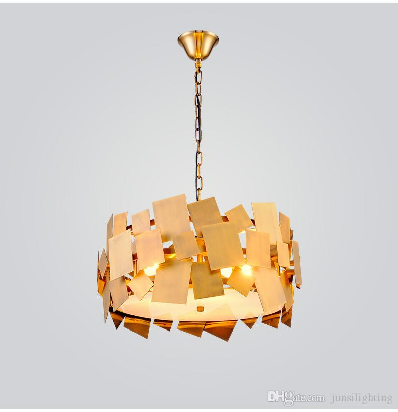 Postmodern Simple Personality Creative Fashion pendant lamp Restaurant Living Room Bar Clubhouse Iron Decorative pendant lights